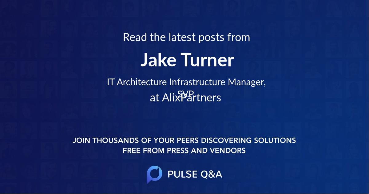 Jake Turner