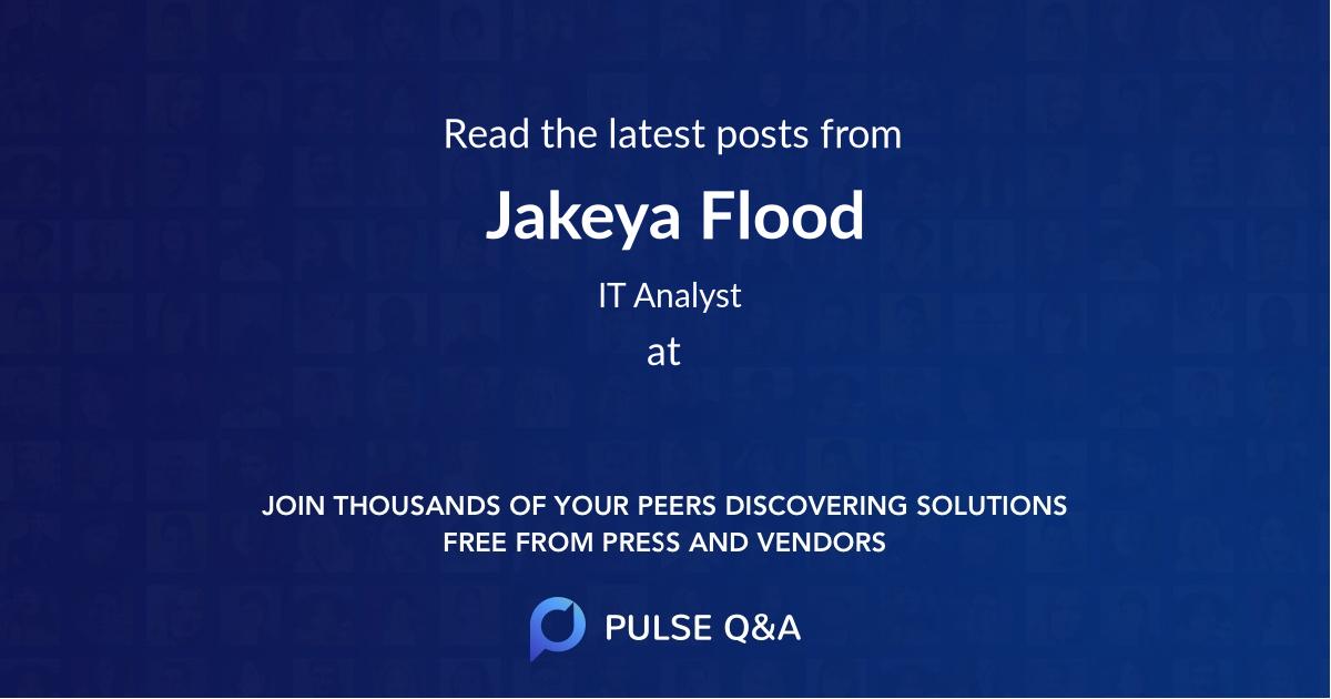 Jakeya Flood