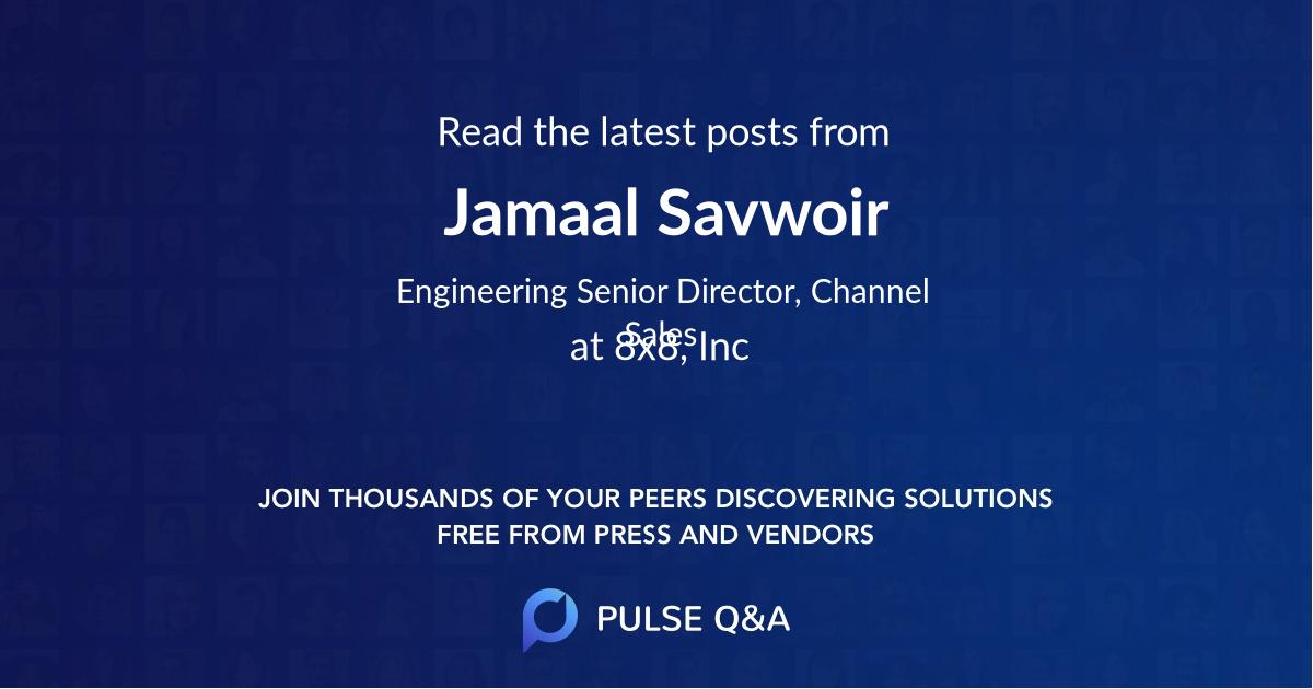 Jamaal Savwoir