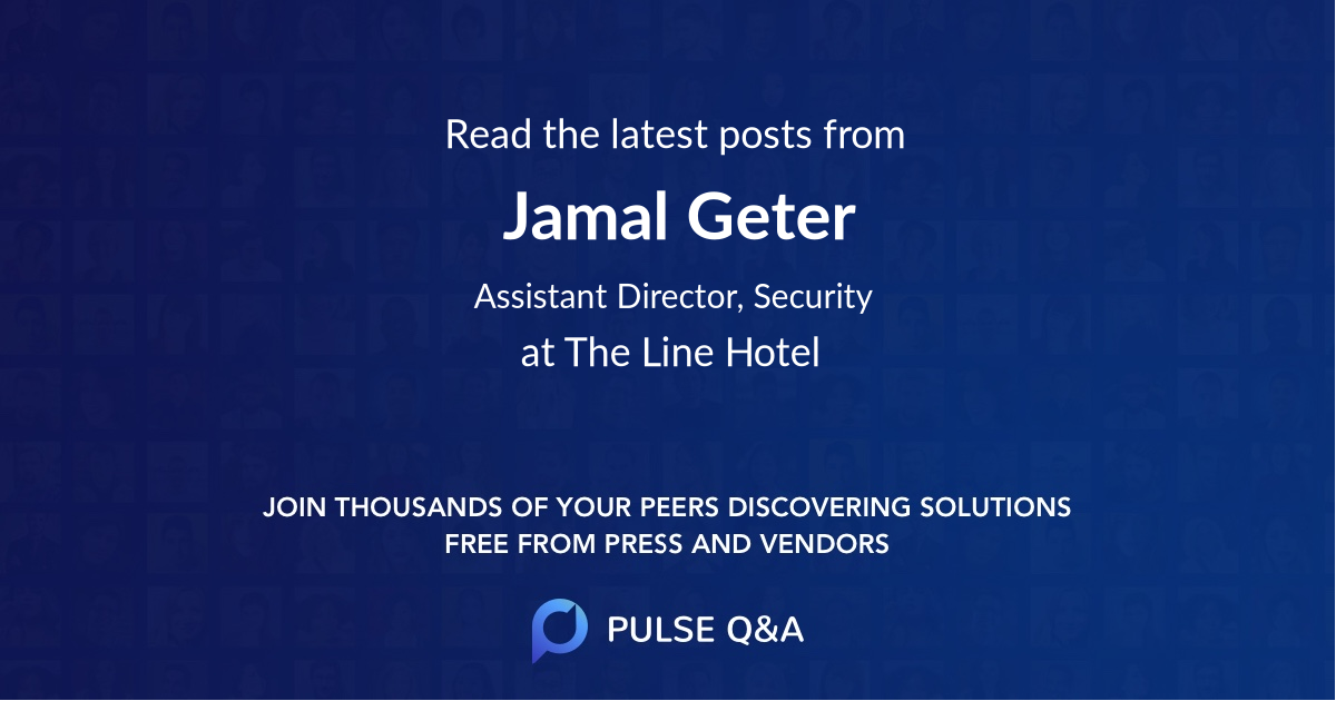 Jamal Geter