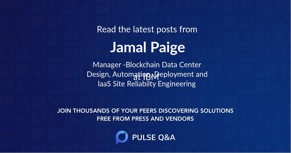 Jamal Paige