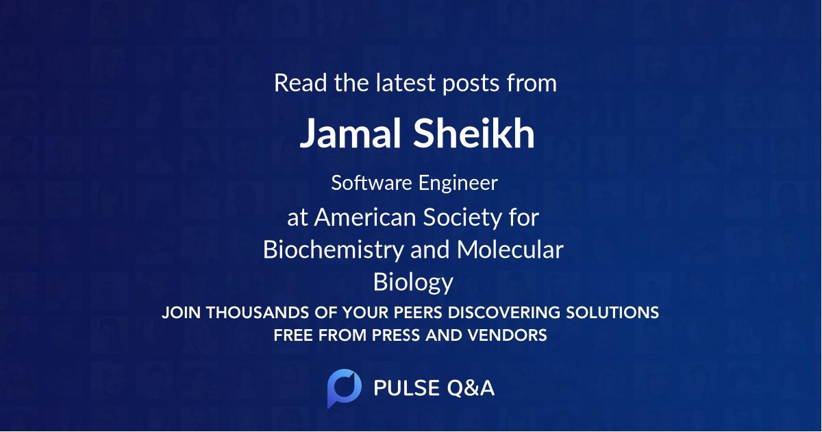 Jamal Sheikh