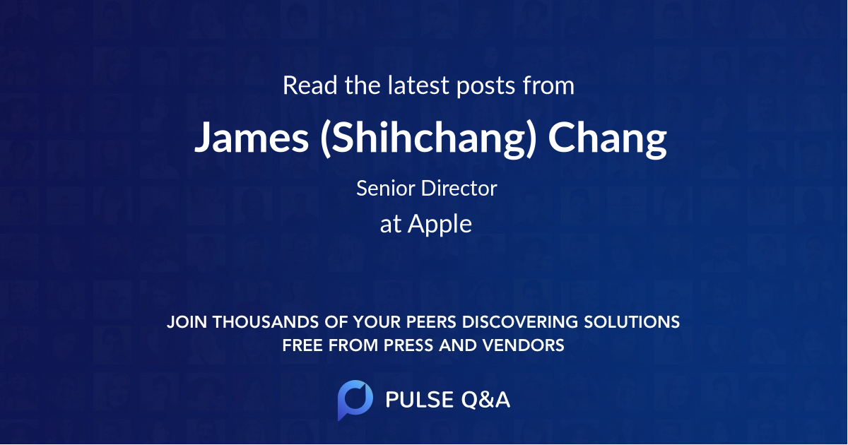 James (Shihchang) Chang