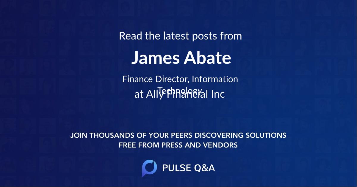 James Abate