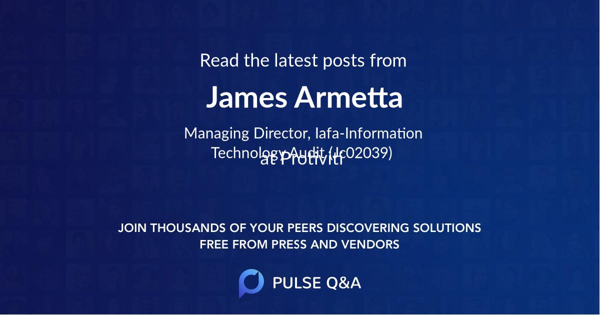 James Armetta