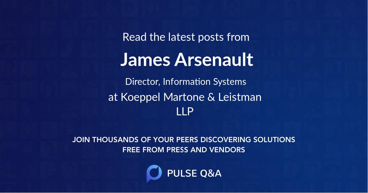 James Arsenault