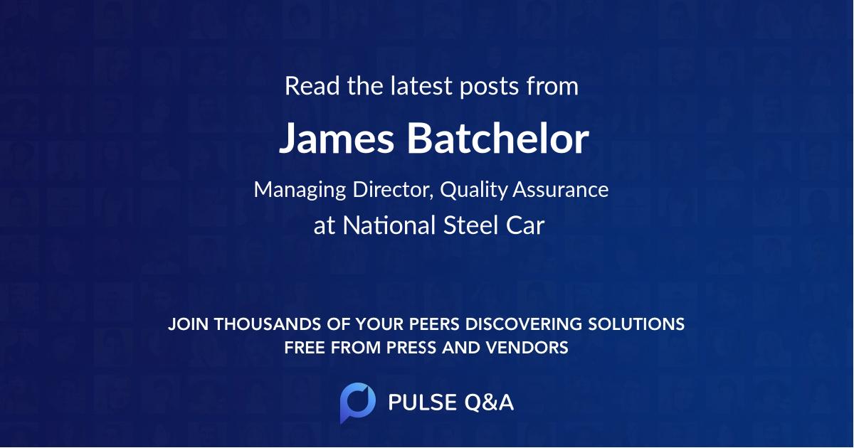James Batchelor