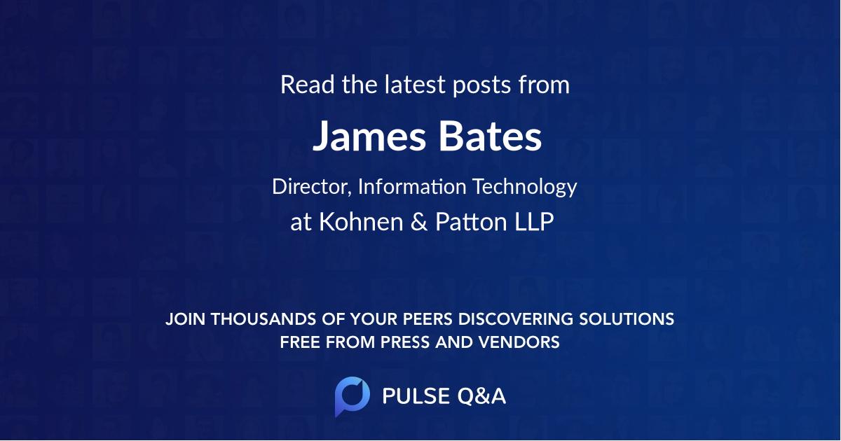 James Bates