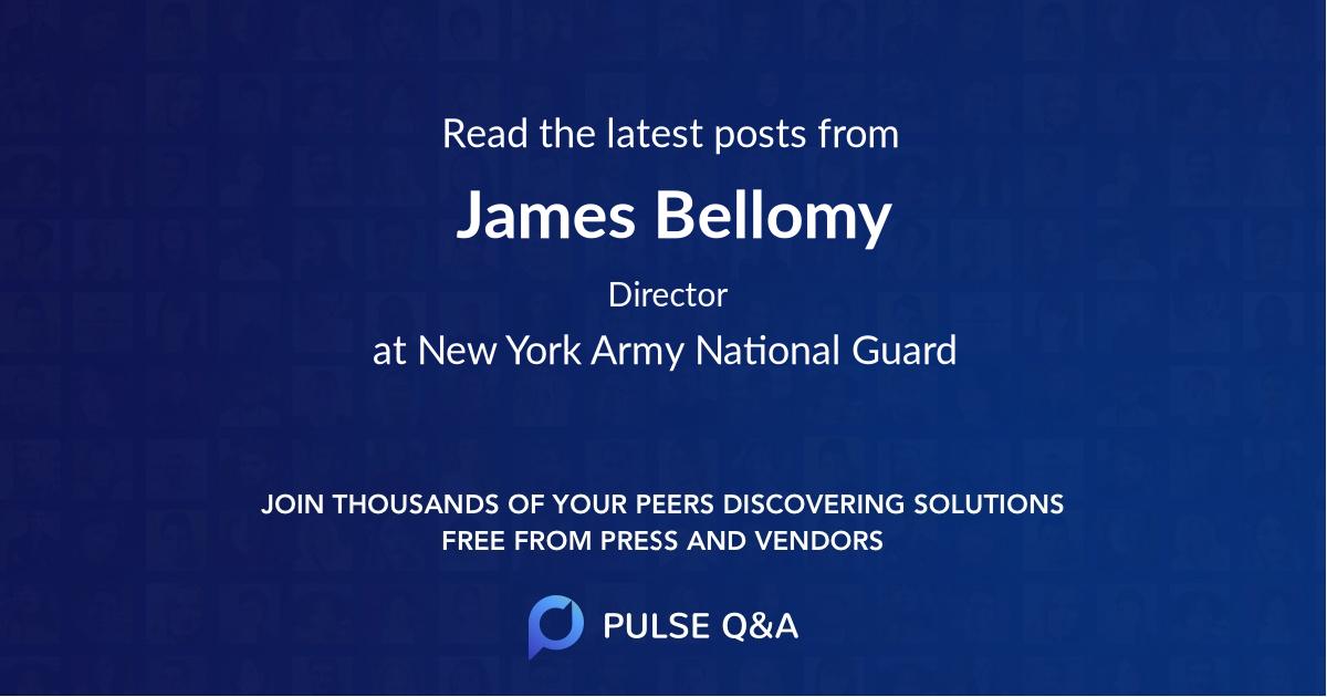 James Bellomy
