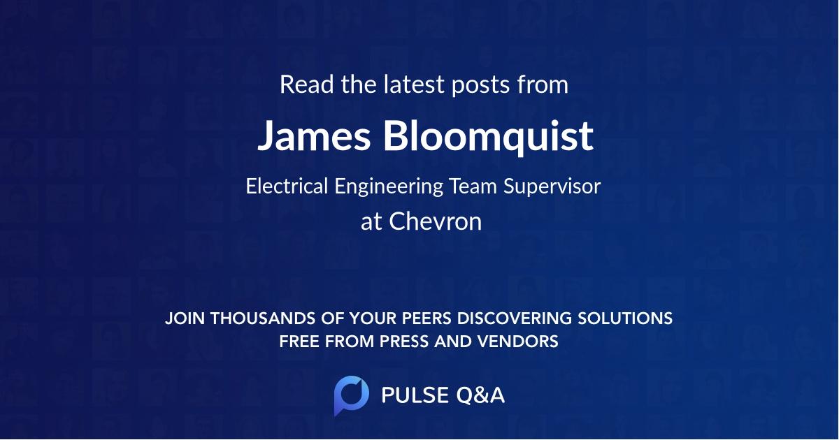 James Bloomquist