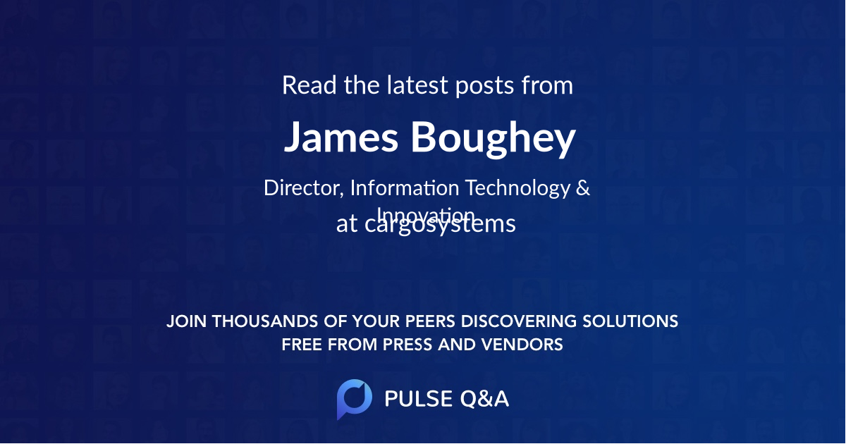 James Boughey