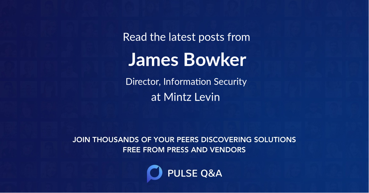 James Bowker