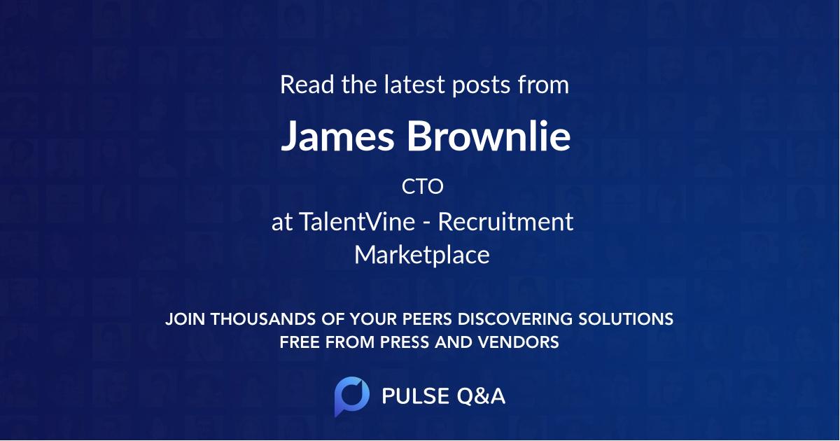 James Brownlie