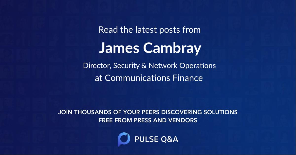 James Cambray