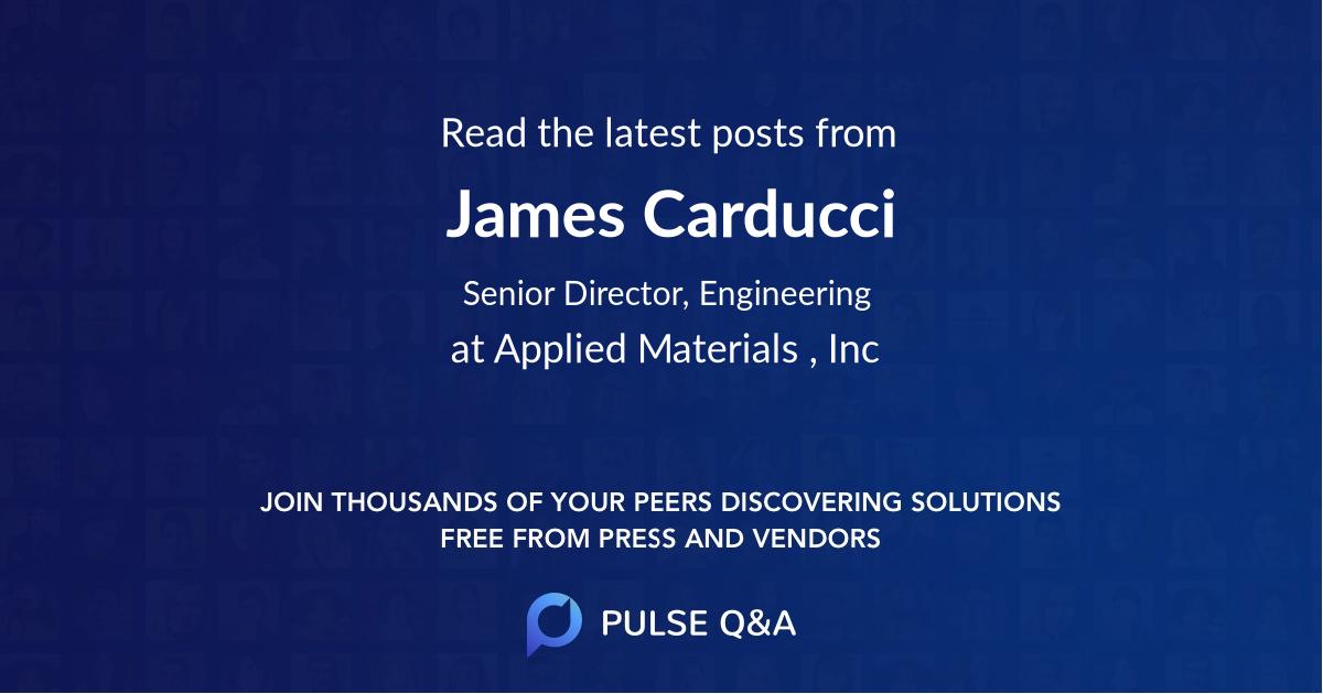James Carducci