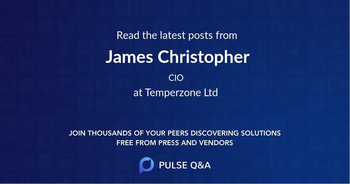 James Christopher
