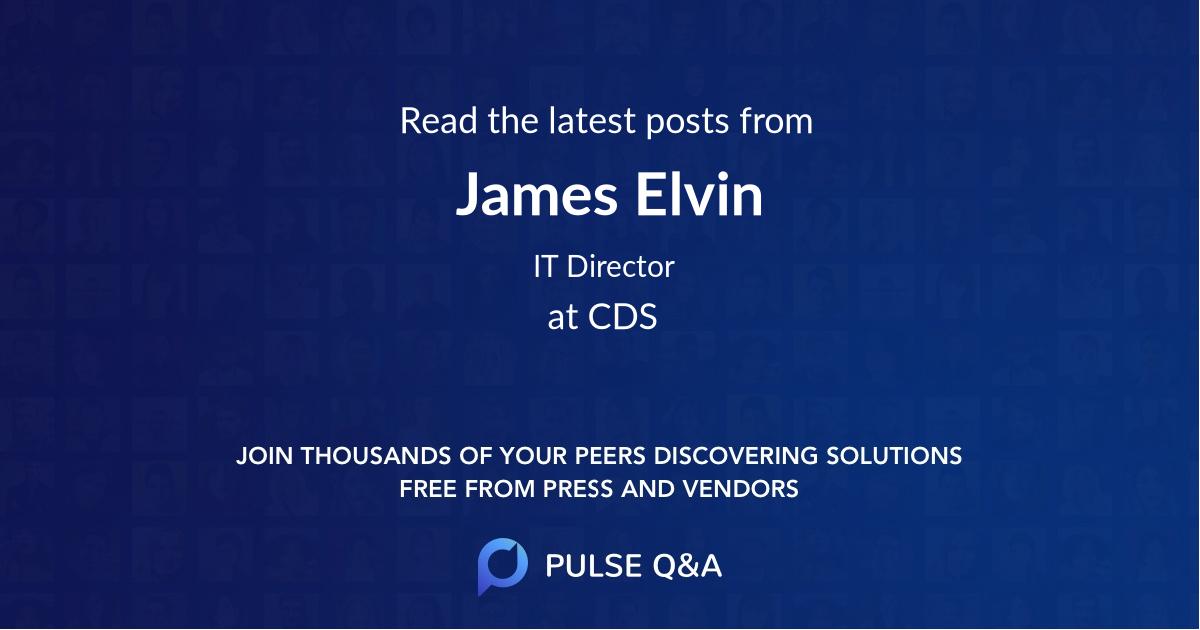 James Elvin
