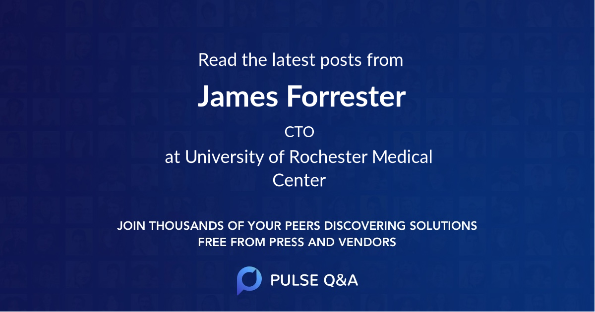 James Forrester