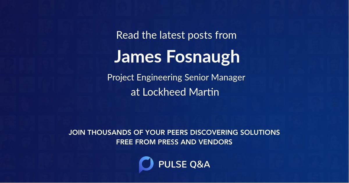 James Fosnaugh
