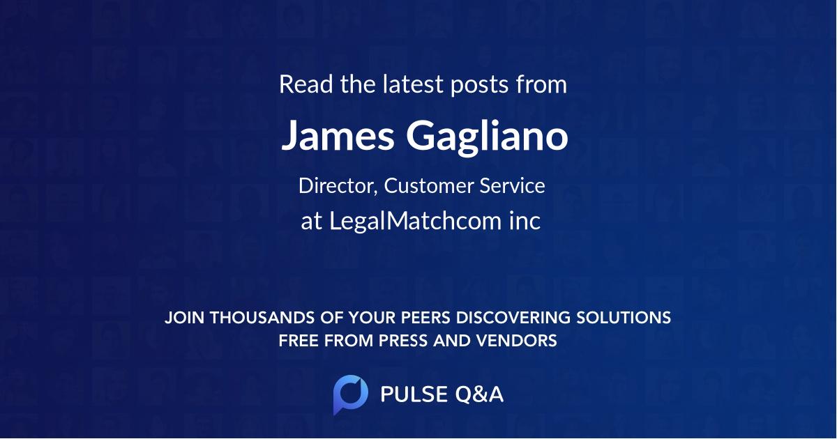 James Gagliano