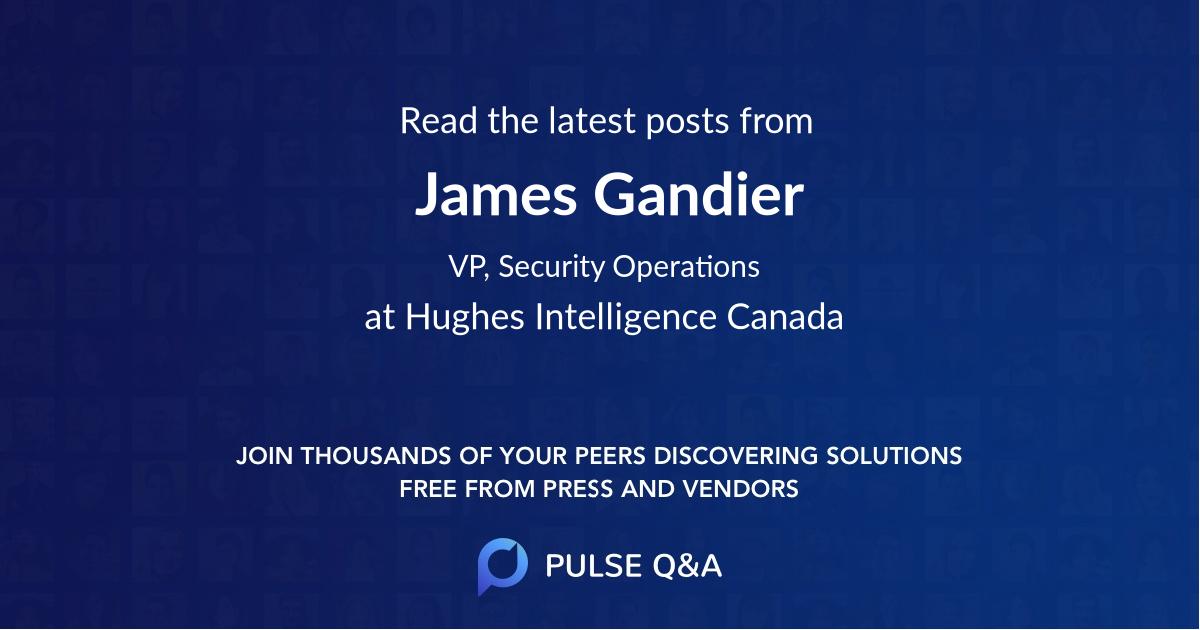 James Gandier