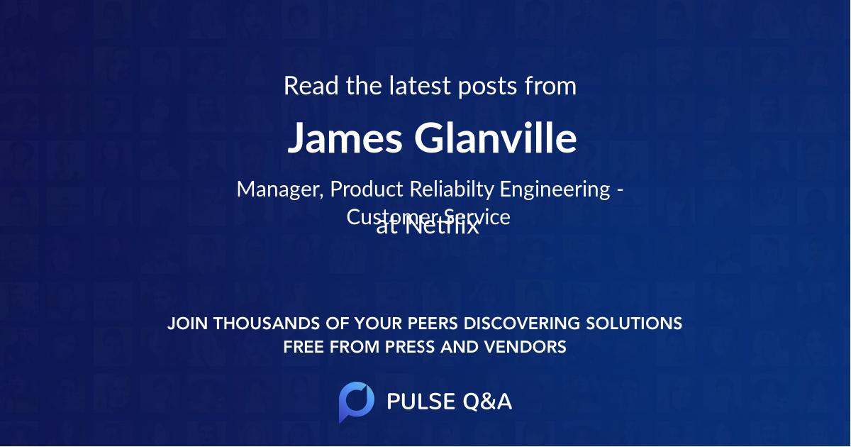 James Glanville