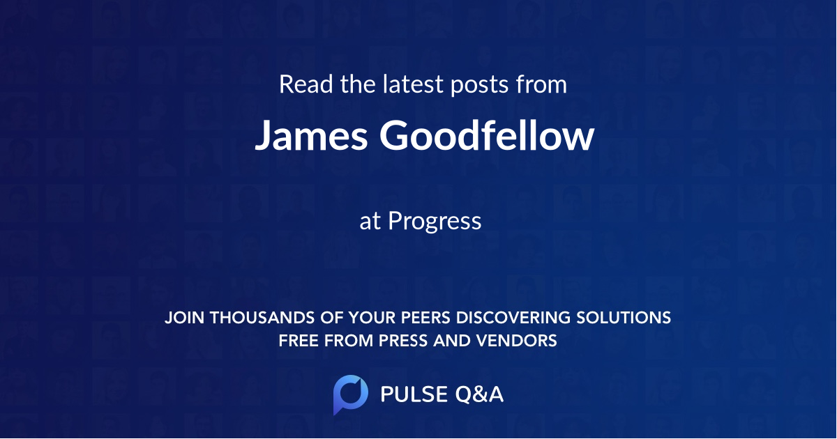 James Goodfellow