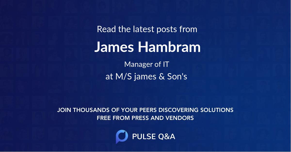 James Hambram