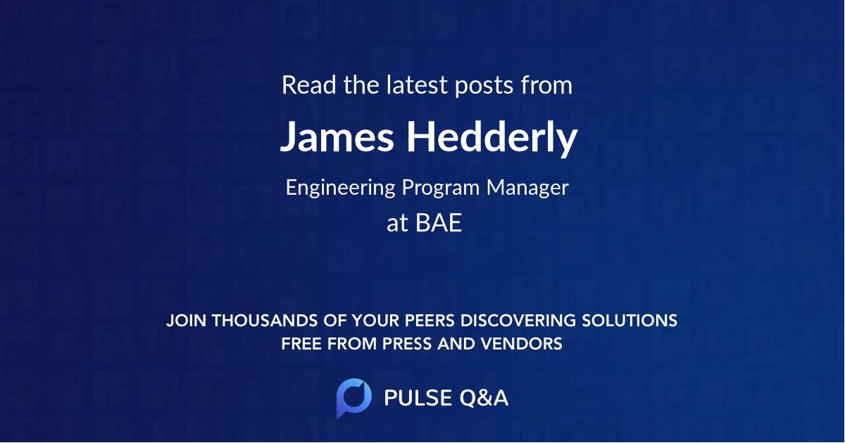 James Hedderly