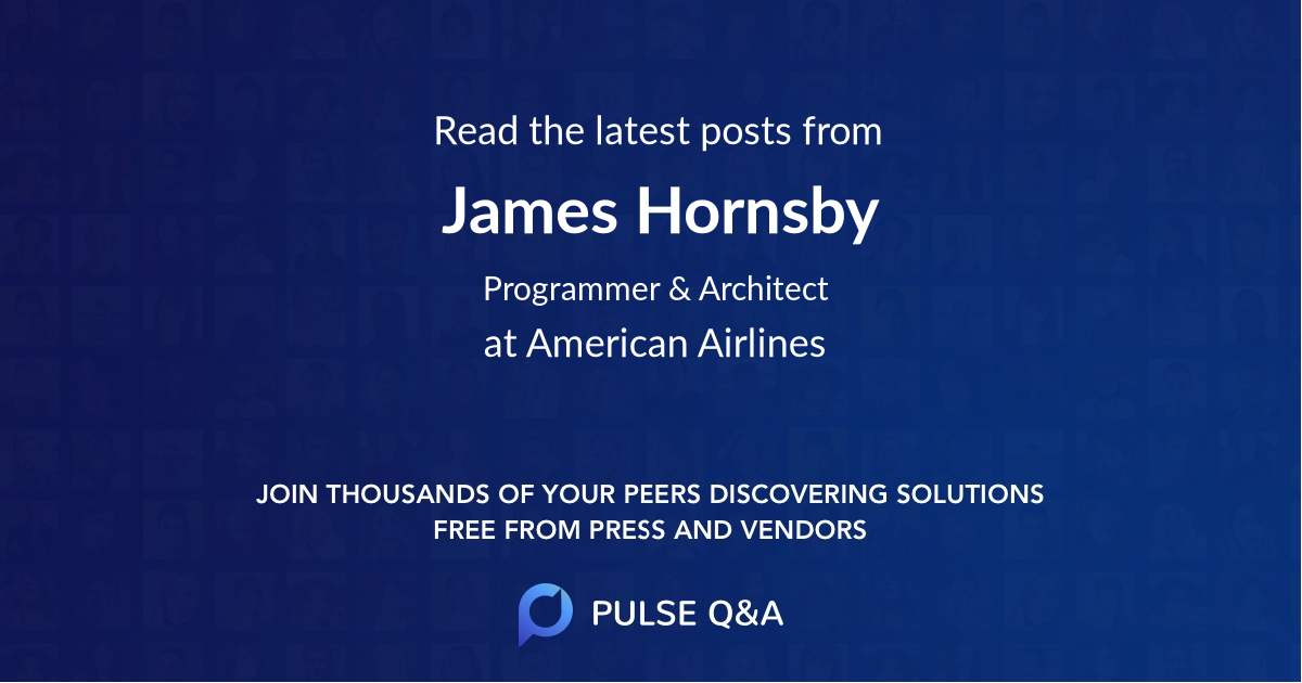 James Hornsby