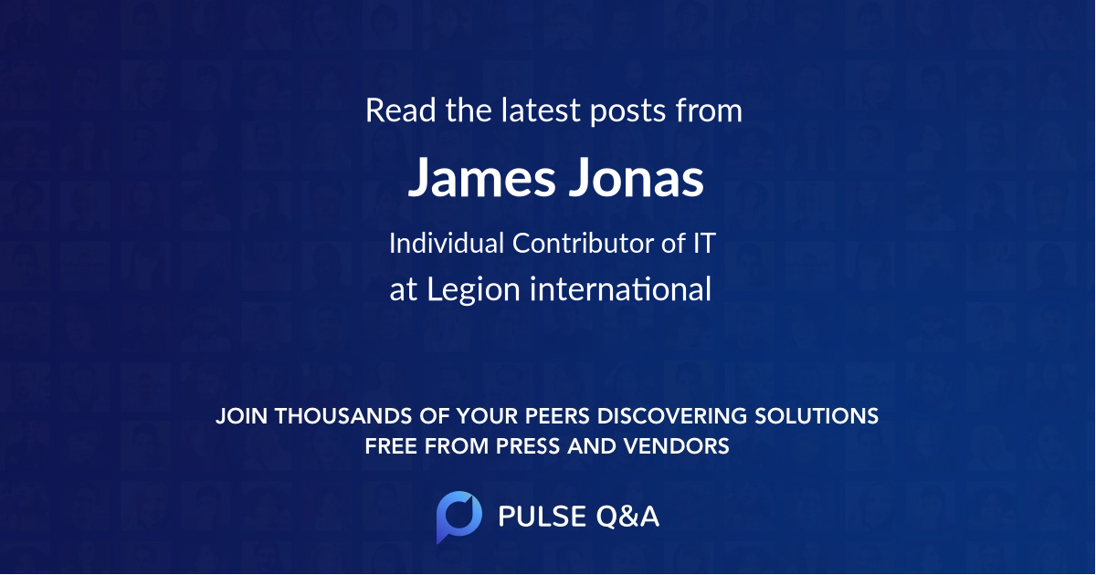 James Jonas