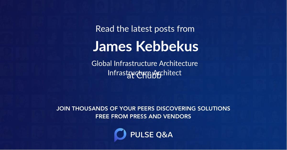 James Kebbekus