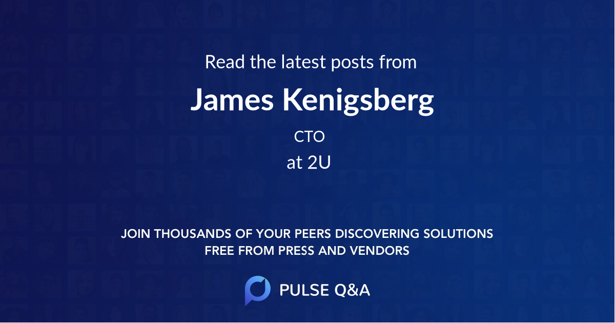 James Kenigsberg