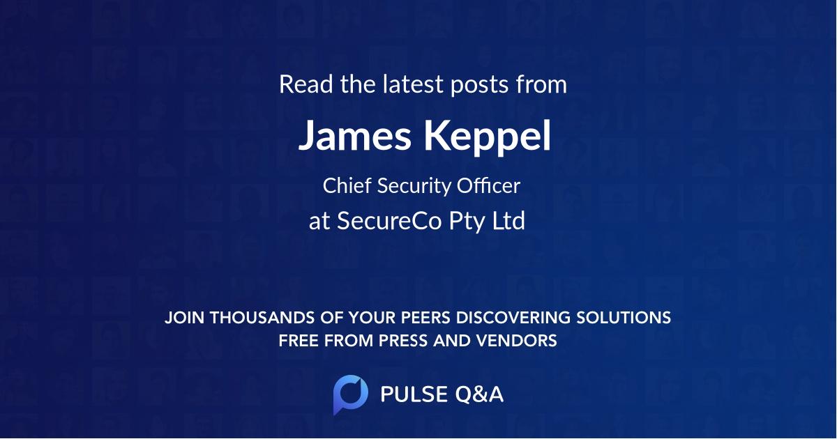 James Keppel