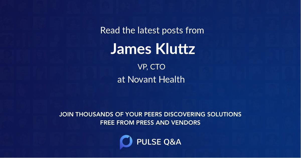 James Kluttz