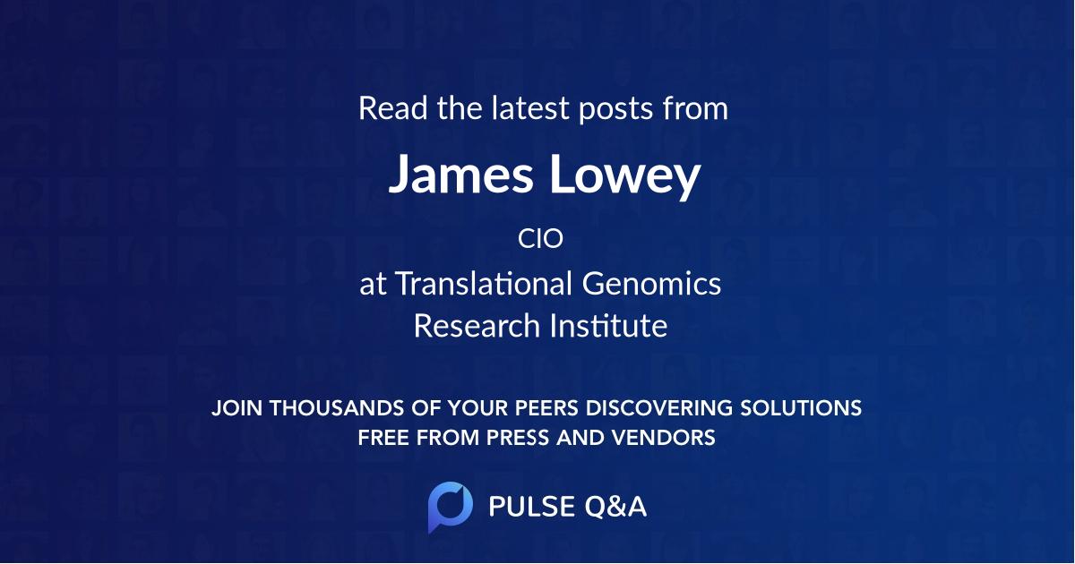 James Lowey