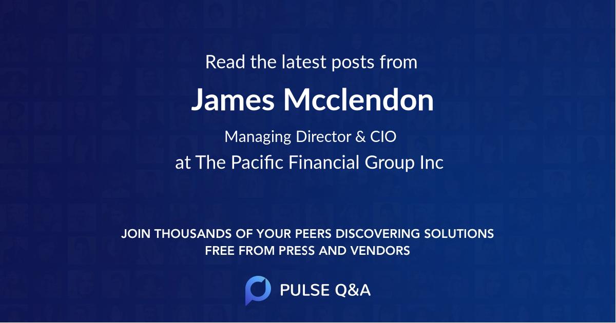 James Mcclendon