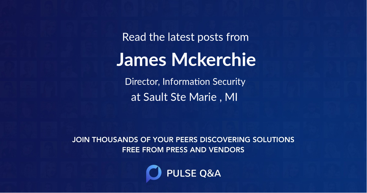 James Mckerchie