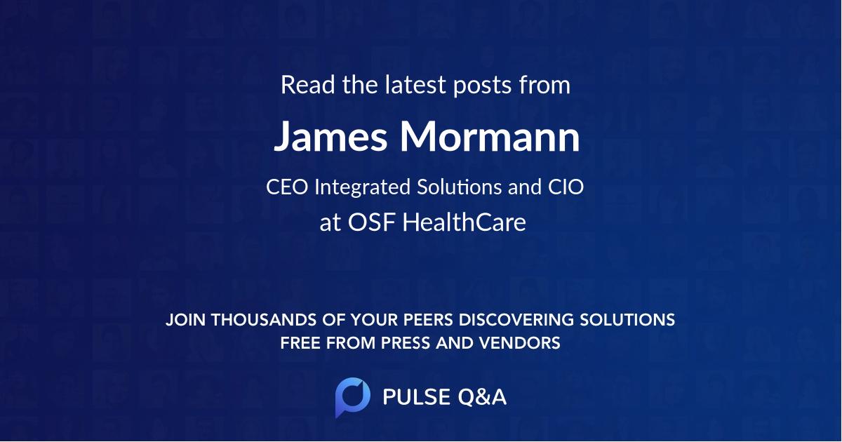 James Mormann