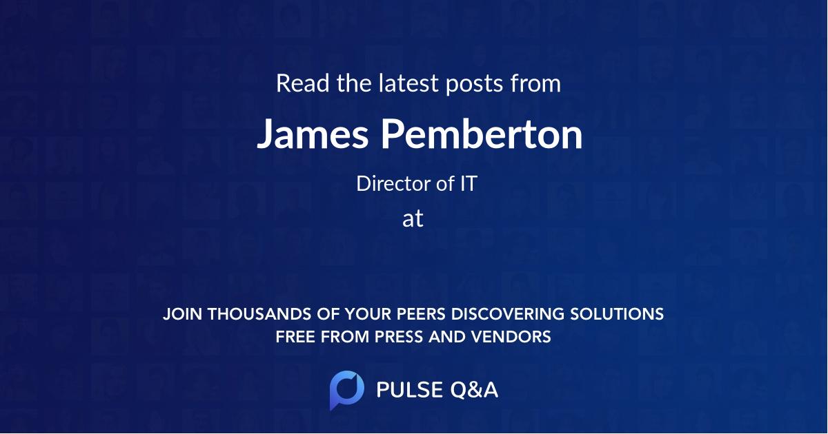James Pemberton
