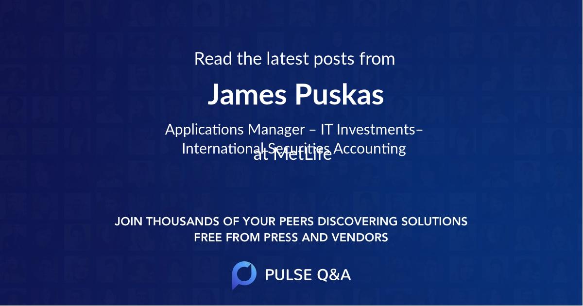 James Puskas