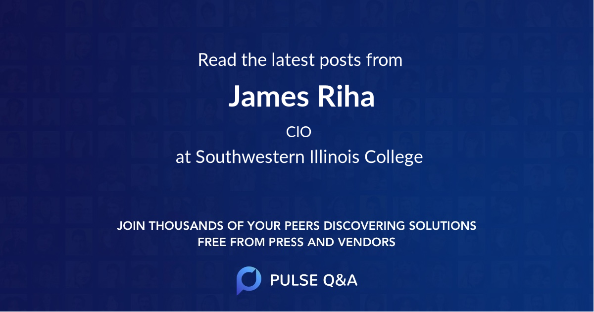 James Riha