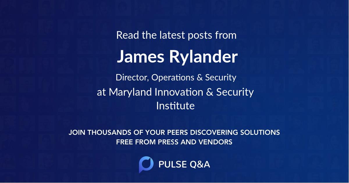 James Rylander