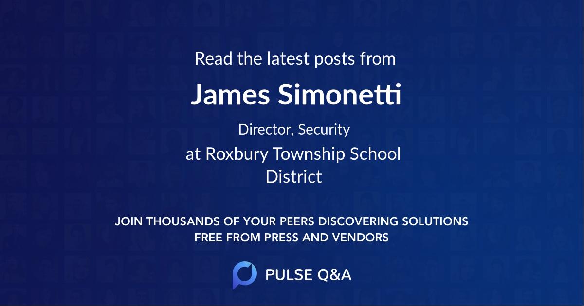 James Simonetti
