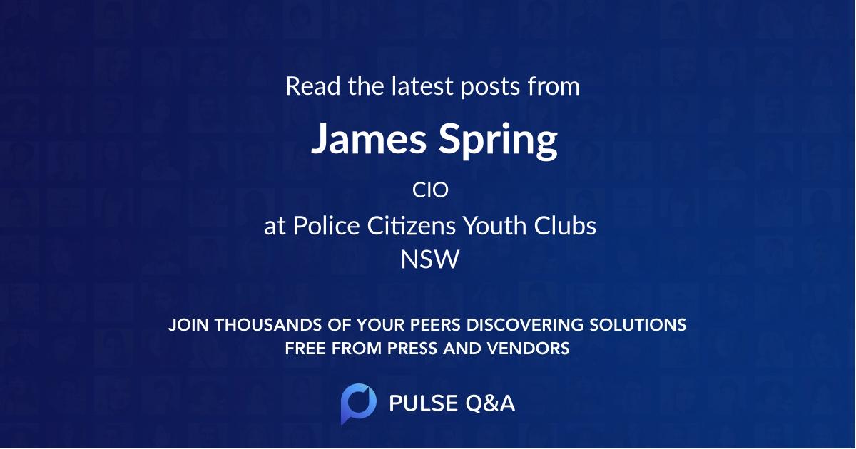 James Spring