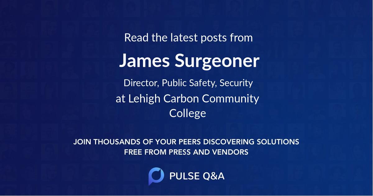 James Surgeoner