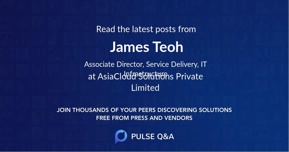 James Teoh
