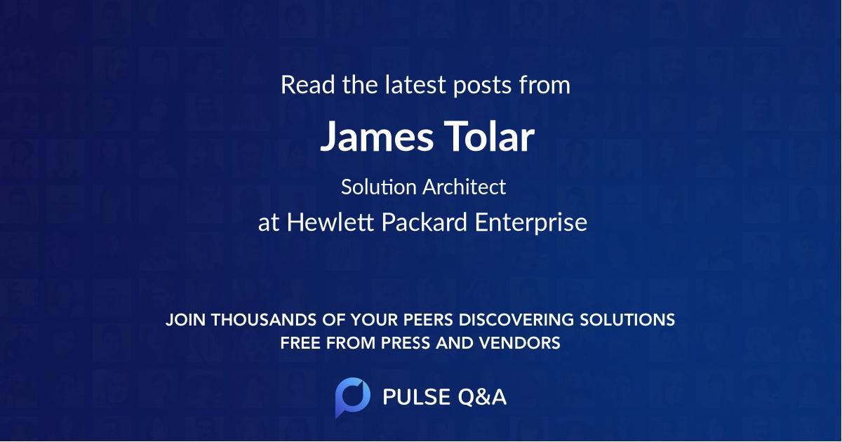 James Tolar