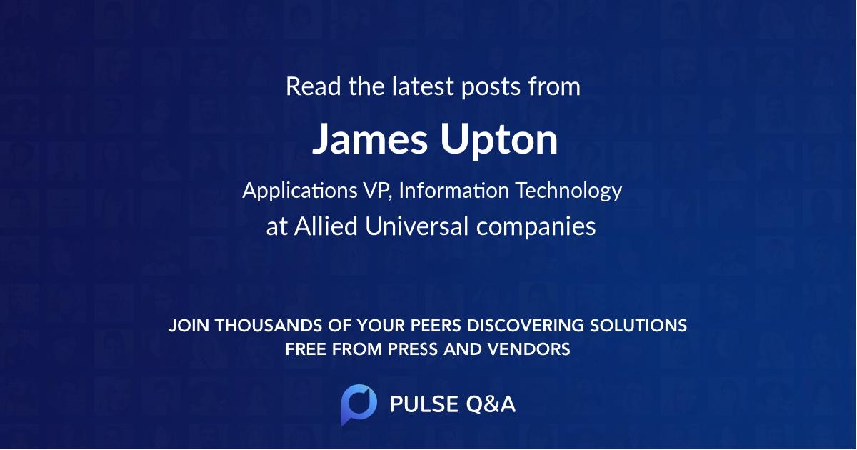 James Upton
