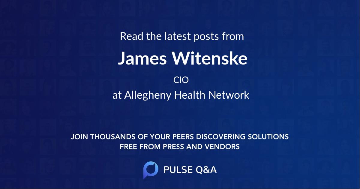 James Witenske